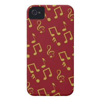 Music Notes Blackberry Bold Case Mate Barely There