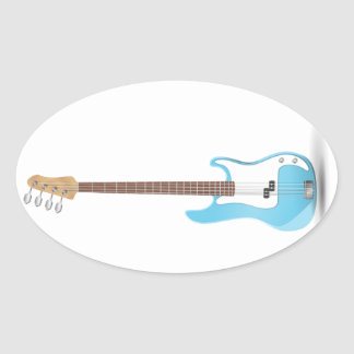 Music Notes Blue Chevrons Zigzags Pattern Destiny Stickers