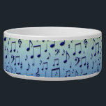 """Music notes bowl<br><div class=""""desc"""">Music notes on a gradient background</div>"""