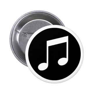 Music Notes Button