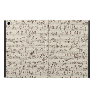 Music notes case for iPad air