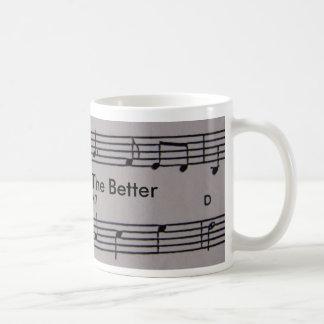 Music Notes Coffee Mug