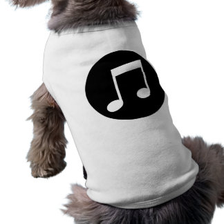 Music Notes Doggie Tee