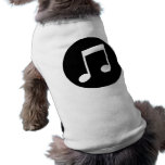 Music Notes Dog Tee