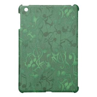 Music Notes Green  iPad Mini Cases