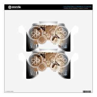 Music Notes Happy & Colorful Butterfly Nature PS3 Controller Skins