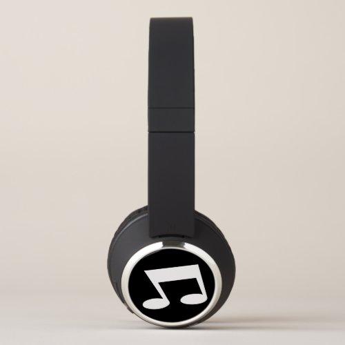 Music Notes Headphones