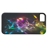 Music Notes in Color for Music-lovers iPhone 5 Cases