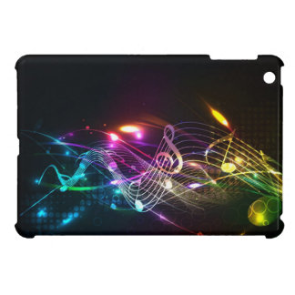 Music Notes in Color for Music-lovers iPad Mini Covers