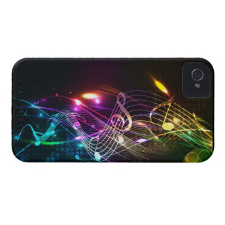 Music Notes in Color for Music-lovers iPhone 4 Cover