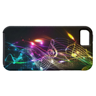 Music Notes in Color for Music-lovers iPhone SE/5/5s Case