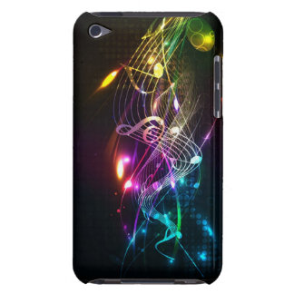 Music Notes in Color for Music-lovers iPod Touch Case-Mate Case