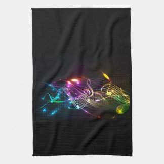 Music Notes in Color for Music-lovers Towel