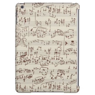 Music notes iPad air covers