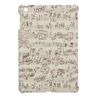 Music notes iPad mini cases