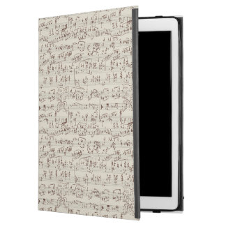 Music notes iPad pro case