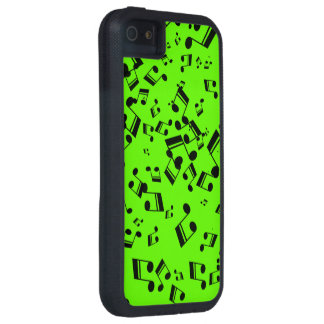 Music Notes iphone 5 XTREME case Cover For iPhone 5