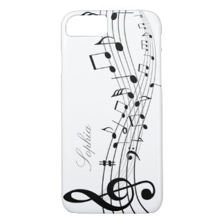 Music Notes iPhone 8/7 Case