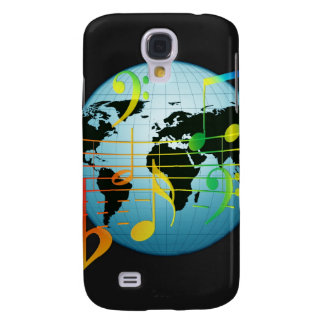 Music Notes Keyboard Destiny Galaxy S4 Case