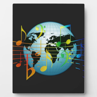 Music Notes Keyboard Destiny Plaque