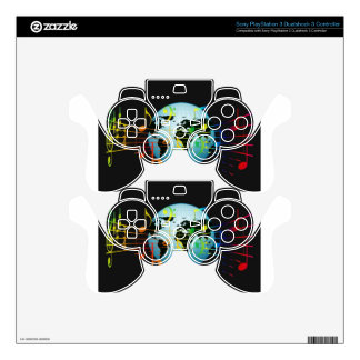 Music Notes Keyboard Destiny PS3 Controller Decal