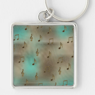 Music & Notes Keychains