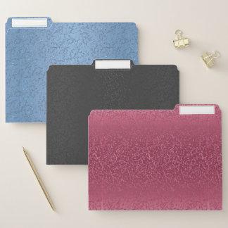 Music Notes Lace 3 Colored Folder Set
