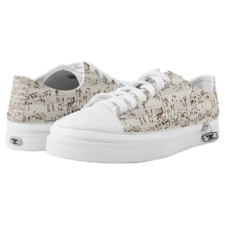 Music notes Low-Top sneakers