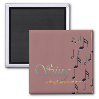 Music Notes Magnet