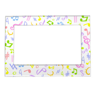 music notes magnetic picture frame - Music Note Picture Frame