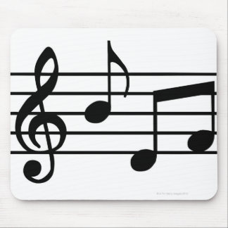 Music Notes Mouse Pad