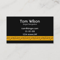 Musician business cards music business cards mgdezigns music notes music business card colourmoves