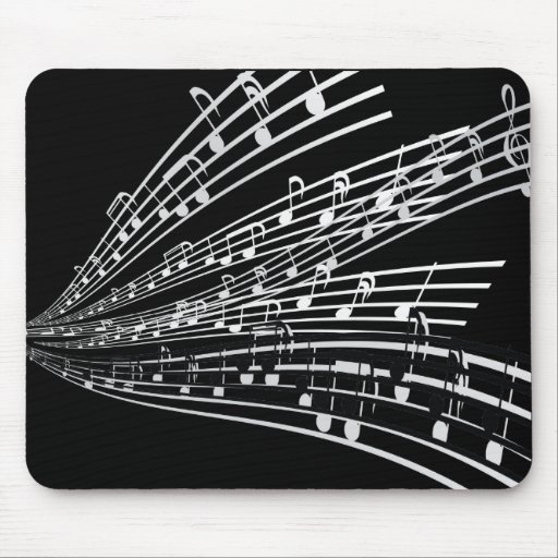 Music Notes ~ Musical Notation Symbols Mouse Pad