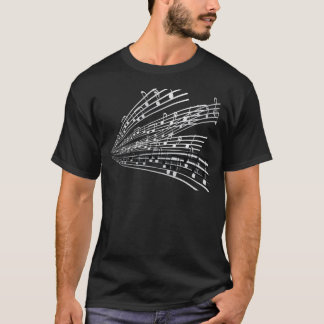 Music Notes ~ Musical Notation Symbols T-Shirt