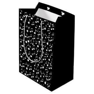 Music-Notes of Love_ Medium Gift Bag