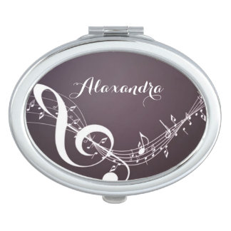 Music Notes on Mirror Compact