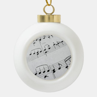 Music Notes Ornament
