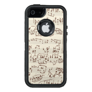 Music notes OtterBox iPhone 5/5s/SE case