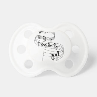 Music Notes Pacifier