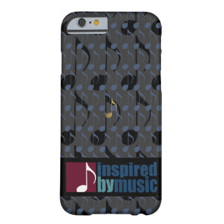 music notes pattern inspired barely there iPhone 6 case