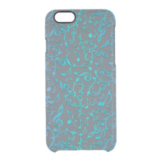 Music Notes Pattern iPhone Case
