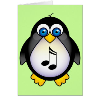 Music Notes Penguin Gift