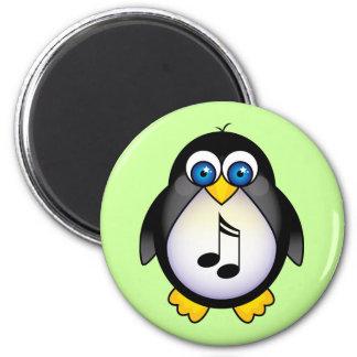Music Notes Penguin Gift Fridge Magnet