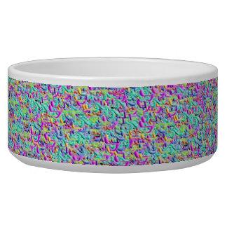 Music notes pet bowls dog bowl