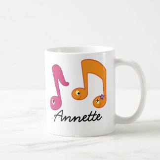 Music Notes Piano Musician Personalized Mug