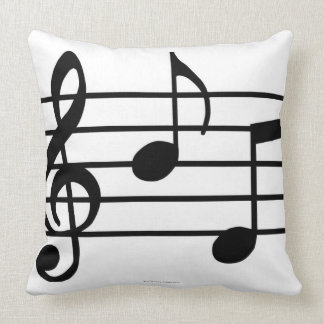Music Notes Pillows