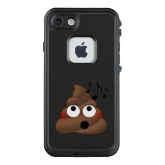 Music Notes Poop Emoji LifeProof FRĒ iPhone 7 Case