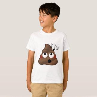 Music Notes Poop Emoji T-Shirt