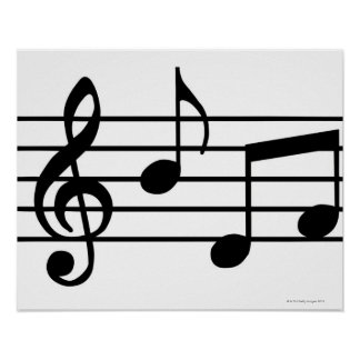 Music Notes Print