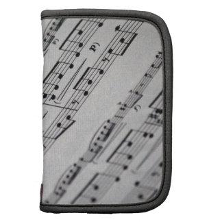 music notes sheet music organizer